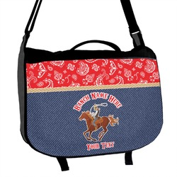 Western Ranch Messenger Bag (Personalized)