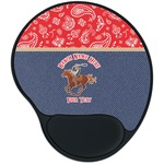 Western Ranch Mouse Pad with Wrist Support