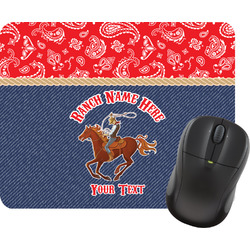 Western Ranch Mouse Pad (Personalized)