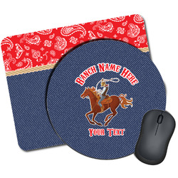Western Ranch Mouse Pads (Personalized)