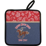 Western Ranch Pot Holder (Personalized)