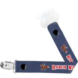 Western Ranch Pacifier Clips (Personalized)