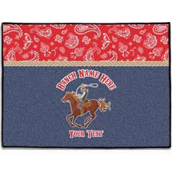 Western Ranch Door Mat (Personalized)