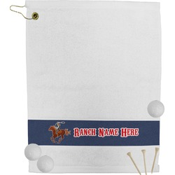 Western Ranch Golf Towel (Personalized)