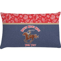 Western Ranch Pillow Case (Personalized)