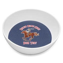 Western Ranch Melamine Bowl 8oz (Personalized)