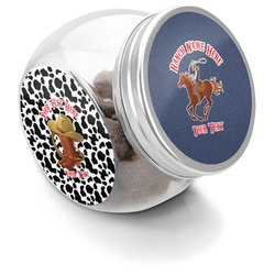 Western Ranch Puppy Treat Jar (Personalized)