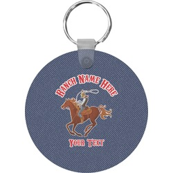 Western Ranch Keychains - FRP (Personalized)