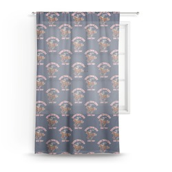Western Ranch Sheer Curtains (Personalized)