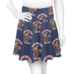 Western Ranch Skater Skirt (Personalized)