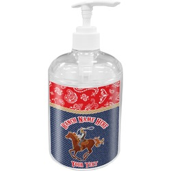 Western Ranch Soap / Lotion Dispenser (Personalized)