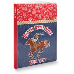 Western Ranch Softbound Notebook (Personalized)