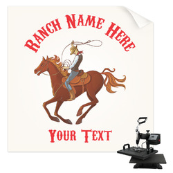 Western Ranch Sublimation Transfer (Personalized)