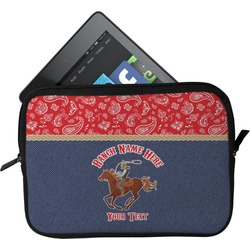 Western Ranch Tablet Case / Sleeve (Personalized)