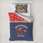 Western Ranch Toddler Bedding w/ Name or Text