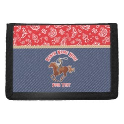 Western Ranch Trifold Wallet (Personalized)