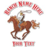 Western Ranch Graphic Decal - Custom Sizes (Personalized)
