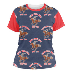Western Ranch Women's Crew T-Shirt (Personalized)