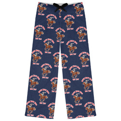 Western Ranch Womens Pajama Pants (Personalized)