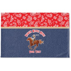 Western Ranch Woven Mat (Personalized)