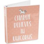 Unicorns 3-Ring Binder (Personalized)