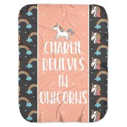 Unicorns Baby Swaddling Blanket (Personalized)