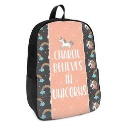 Unicorns Kids Backpack (Personalized)