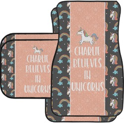 Unicorns Car Floor Mats (Personalized)