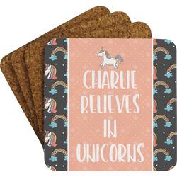 Unicorns Coaster Set w/ Stand (Personalized)