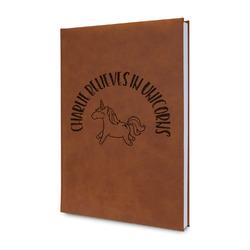 Unicorns Leatherette Journal (Personalized)