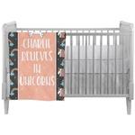 Unicorns Crib Comforter / Quilt (Personalized)