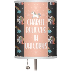"Unicorns 7"" Drum Lamp Shade (Personalized)"