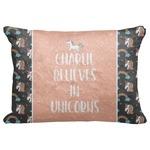 "Unicorns Decorative Baby Pillowcase - 16""x12"" (Personalized)"