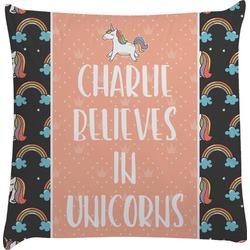 Unicorns Decorative Pillow Case (Personalized)