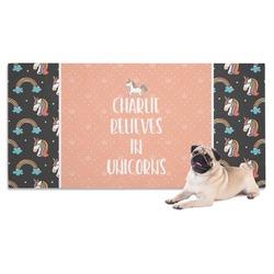 Unicorns Pet Towel (Personalized)