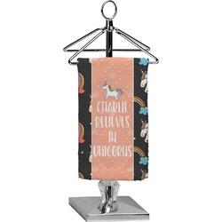 Unicorns Finger Tip Towel - Full Print (Personalized)