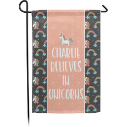 Unicorns Garden Flag - Single or Double Sided (Personalized)