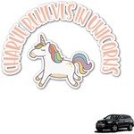 Unicorns Graphic Car Decal (Personalized)