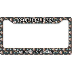 Unicorns License Plate Frame - Style B (Personalized)
