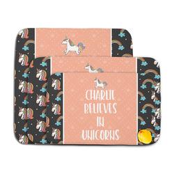 Unicorns Memory Foam Bath Mat (Personalized)