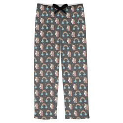 Unicorns Mens Pajama Pants (Personalized)