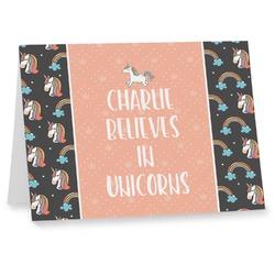 Unicorns Notecards (Personalized)