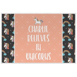 Unicorns Placemat (Laminated) (Personalized)
