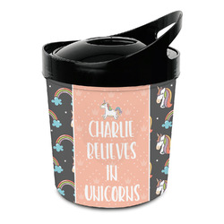 Unicorns Plastic Ice Bucket (Personalized)