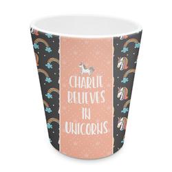 Unicorns Plastic Tumbler 6oz (Personalized)