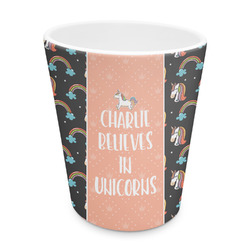 Unicorns Plastic Tumbler 6oz (Personalized)