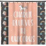 Unicorns Shower Curtain (Personalized)