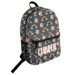Unicorns Student Backpack (Personalized)