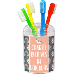 Unicorns Toothbrush Holder (Personalized)