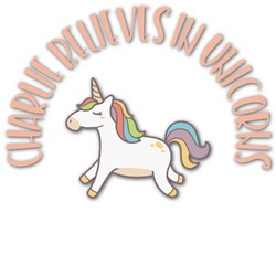 Unicorns Graphic Decal - Custom Sized (Personalized)